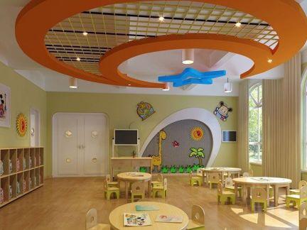 幼儿园装修设计吊顶图片
