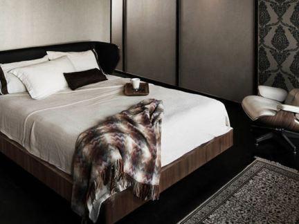 现代风格10平米主卧室装修