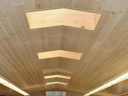 木制室内屋顶装修效果图