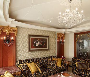 古典英式设计风格客厅装修图片