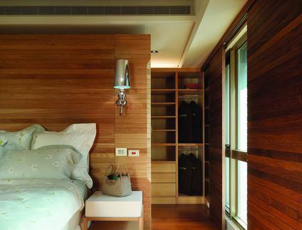 美式现代风格三居卧室设计图片欣赏