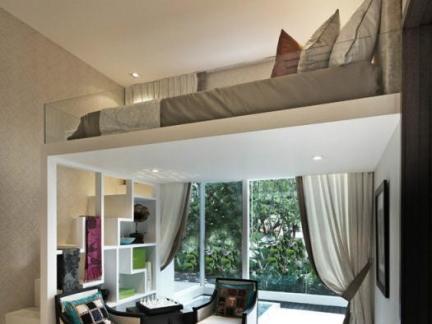 单身公寓式住宅设计装修