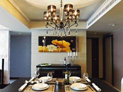 84平米现代家居风格两室一厅户型室内设计