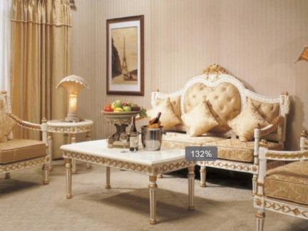 10平米客厅欧式家具图片