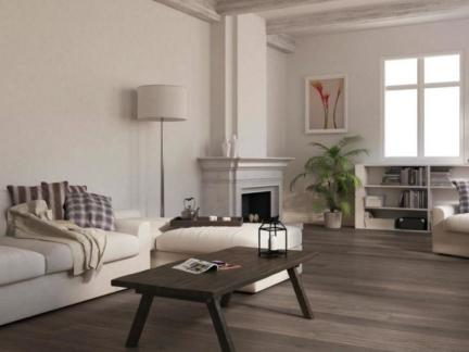 简欧客厅北美枫情地板图片-2017客厅过道木地板贴图 房天下装修效果