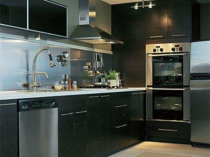 现代设计宜家整体厨房图片