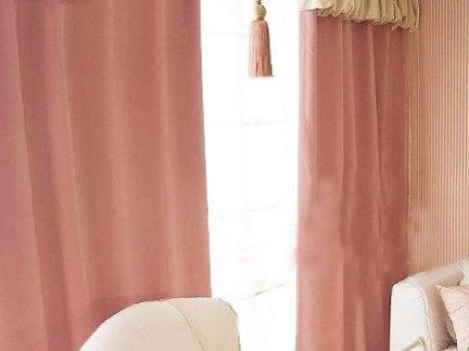 简欧设计室内装修窗帘效果图欣赏