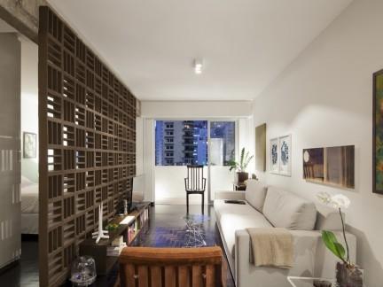 北欧风格装修小户型室内设计效果图2014