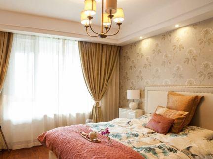 田园温馨女生卧室设计图片