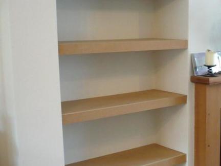 简易书柜书架效果图-2017书橱书架书柜 房天下装修效果图