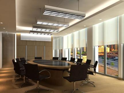 会议室室内吊顶装饰设计图