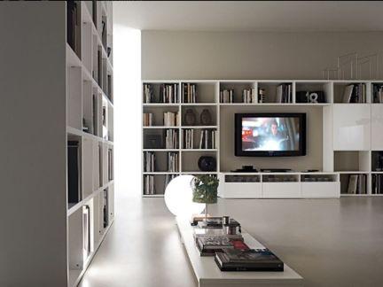 北欧时尚奢华电视背景墙图片
