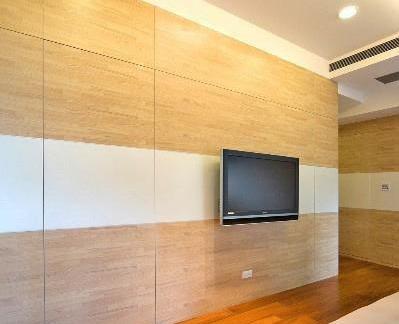 简单室内电视背景墙效果图