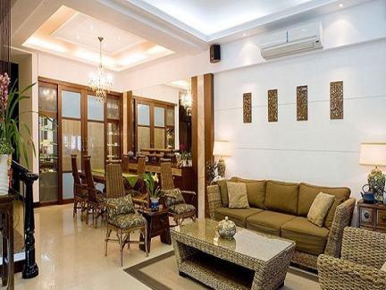 别墅江南水乡庭院设计图片