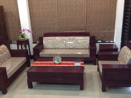 客厅红木沙发设计效果图