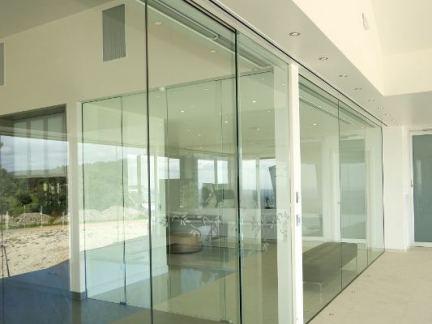 室内无框玻璃门图集