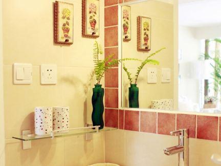 2017室内简装修效果图大全洗手间 房天下装修效果图