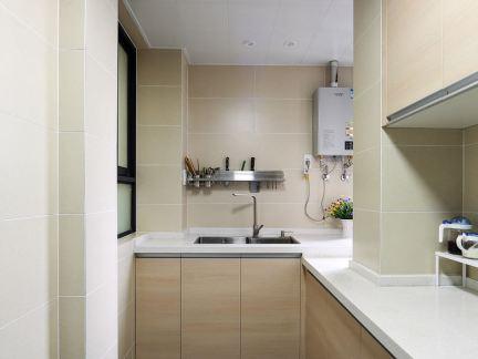 日式家居复式室内厨房装修效果图