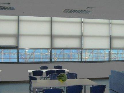 办公室窗帘图片_2018办公室窗帘图片大全-房天下装修效果图