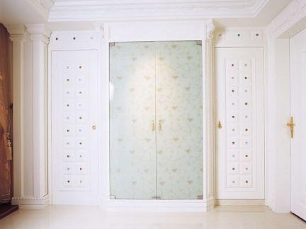 欧式壁柜门装饰