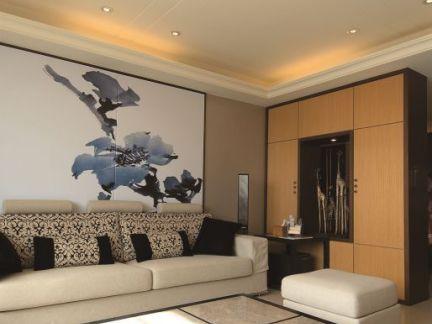 中式现代风格房子装修效果图