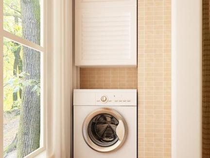 开放阳台洗衣机