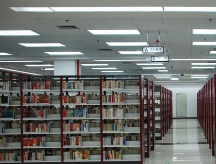 图书馆设计室内书架效果图欣赏