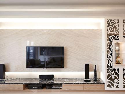 中式时尚电视背景墙大全