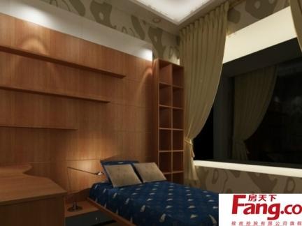 最新中式十平米单间儿童睡房装修效果图欣赏