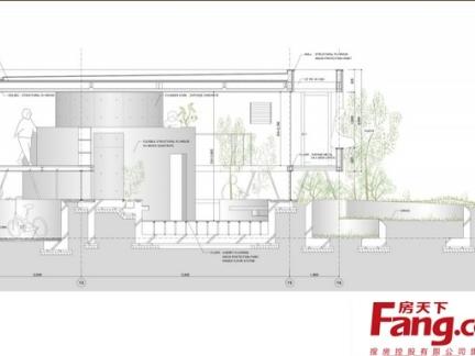 2013大型新农村雅致现代别墅设计图