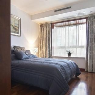 中式卧室飘窗装修效果图图片