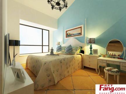 主卧室床之背景墙设计