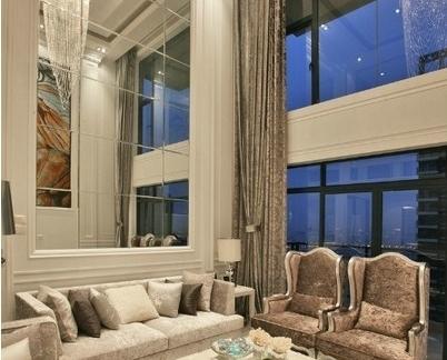 现代艺术玻璃背景墙图片鉴赏