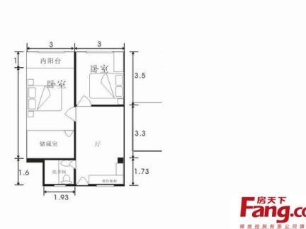 最新的单身公寓平面图大全展示