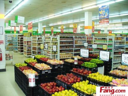超市饮品区装饰图片-2017超市装饰效果图图片 房天下装修效果图