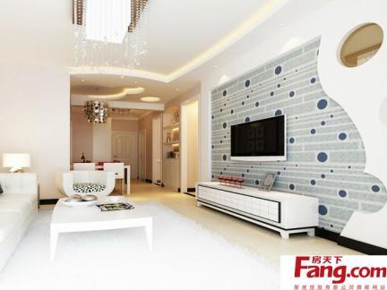 电视墙装修墙纸设计效果图图片鉴赏