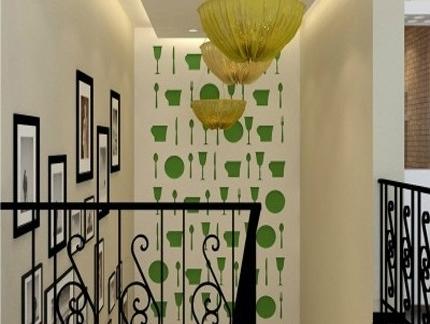2013最新现代欧式楼梯间设计家装图纸欣赏