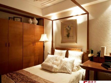 主卧室床之室内卧室床设计图