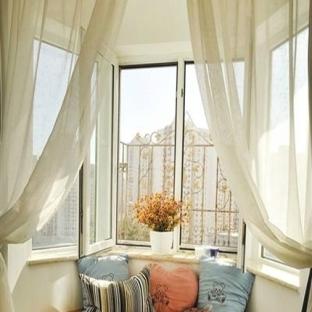 现代中式风格阳台小房间榻榻米图片欣赏
