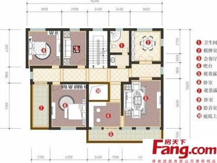 2017两层楼房平面图 房天下装修效果图