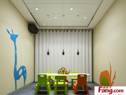 幼儿园设计效果图之广播室装修设计