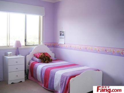 可爱儿童房空间墙面装修图片大全