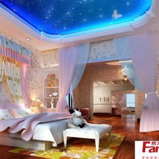 可爱儿童房空间公主床