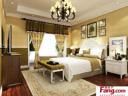 主卧室床之卧室背景墙装饰
