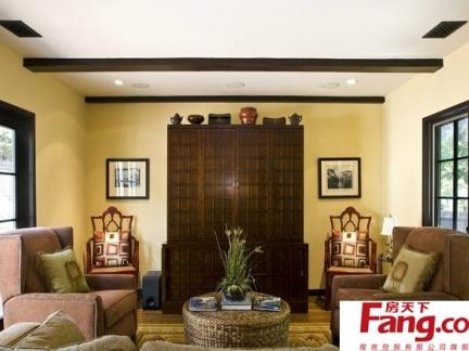 最新四室二厅复式楼灯饰地中海式装修图欣赏