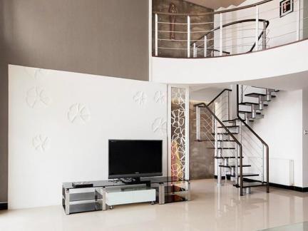 2013客厅电视背景墙墙纸设计效果图