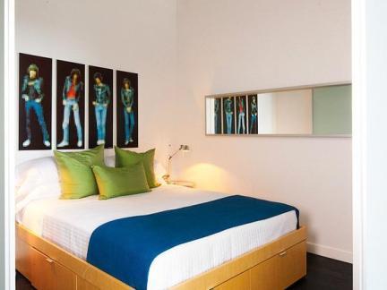 主卧室床之室内卧室床设计图片集锦
