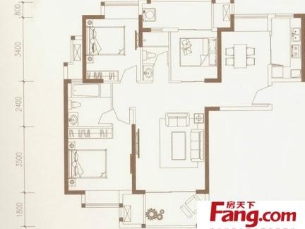 简单高层住宅户型图大全-2018住宅简单装修图 房天下装修效果图