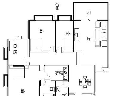 最流行的单身公寓平面图集锦