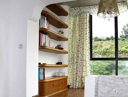 现代欧式阳台小房间榻榻米图片